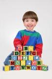 Apprentissage de mes ABC Image stock