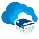 Apprentissage en ligne - transfert de la connaissance Photos libres de droits