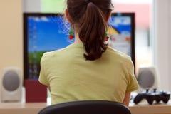 Apprentissage sur internet Photos stock