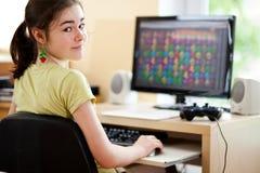 Apprentissage sur internet photographie stock libre de droits