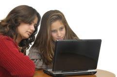 Apprentissage sur internet Photos libres de droits
