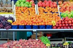 Appricot fruits. Fresh and organic fruits at farmers market Royalty Free Stock Photos
