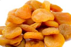 Appricots secados de Turquía aislados Imágenes de archivo libres de regalías