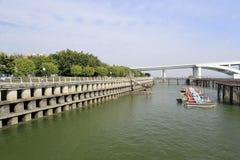 Approach spans of wuyuanwan bridge Royalty Free Stock Photos