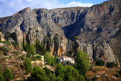 Approach to Guadalest Royalty Free Stock Photo