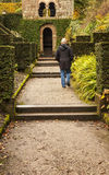 Approaching arch at Biddulph Grange Stock Images