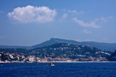 Approaching Cassis Stock Photo