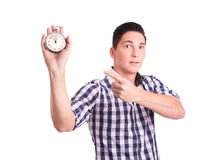 Approaching deadline Stock Photography