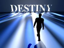 Approaching Destiny royalty free illustration