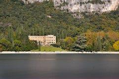 Approaching Garda on Lake Garda Italy Royalty Free Stock Photo