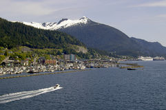 Approaching Ketchikan Alaska Stock Photography
