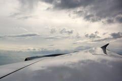 Approaching Miami, Florida, USA Royalty Free Stock Image