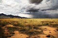Approaching Monsoon Storm in the American Southwest Stock Image