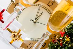 Approaching New Year Royalty Free Stock Images