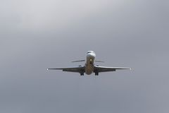 approaching plane Στοκ Εικόνα