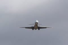 Approaching Plane Stock Image