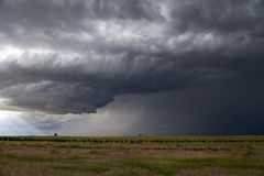 Approaching Prairie Thunderstorm Royalty Free Stock Photo