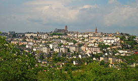 Approaching Rodez Stock Images