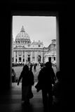 Approaching St Peters Square, Rome Stock Images