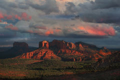 Approaching Storm. This image was taken in Sedona, AZ Royalty Free Stock Images