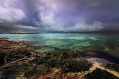 Approaching storm Royalty Free Stock Image