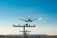Free Approaching The Airport Royalty Free Stock Photo - 36530865