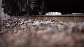 Approaching train stock video