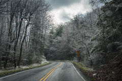 Free Approaching Winter Storm - Blue Ridge Parkway Stock Photography - 88540752