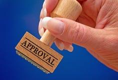 approbation Image libre de droits