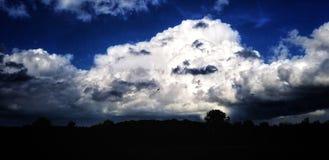Approcci della tempesta Immagine Stock