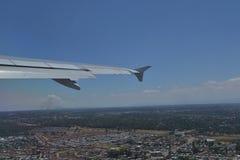 Approccio a Johannesburg Immagini Stock