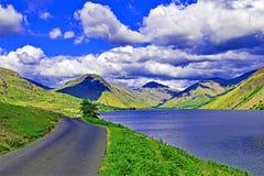 Approche dans la tête 3, secteur de lac, nord-ouest, Angleterre de Wasdale images libres de droits