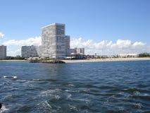 Approches pour mettre en communication des marais, Miami, la Floride Images libres de droits