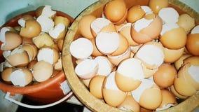 Approfitti delle coperture dell'uovo fotografia stock libera da diritti