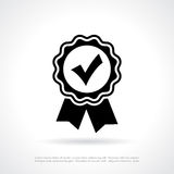 Approval quality certificate icon. Approval quality certificate vector illustration vector illustration