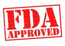 APPROVATO DALLA FDA immagine stock libera da diritti