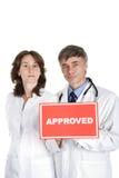 Approvazione medica Immagini Stock