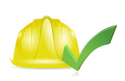 Approve construction illustration design Royalty Free Stock Photography