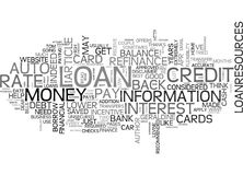 Approve Your Dream With Secured Loan Uk Word Cloud Royalty Free Stock Photo