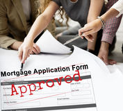 Approved Agreement Authority Guarantee Permit Concept Royalty Free Stock Photo
