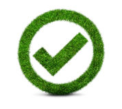 Approved, ecology sign Royalty Free Stock Image