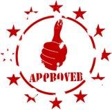 Approved grunge stamp. Illustration of Approved grunge stamp Stock Image