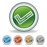 approved icon Royalty Free Stock Image