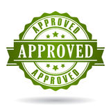 Approved icon Stock Images