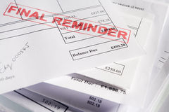Free Approved Invoices Stock Photo - 7730320