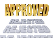 Approved At Last Royalty Free Stock Image