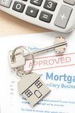 Approved mortgage application Royalty Free Stock Images