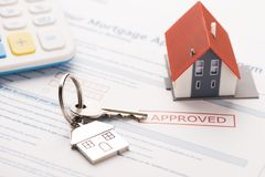 Mortgage loan stock images