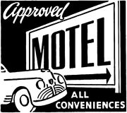 Approved Motel 2 Stock Image