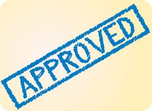 Approved sign Stock Photography